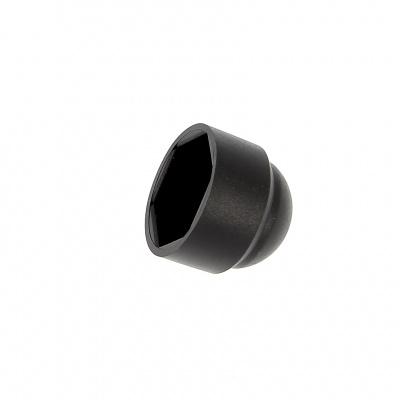 Tapón/protección de tuercas de poliétileno negro