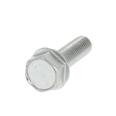 Autorroscante CH con Collar Acero Galvanizado Blanco Din 7500D